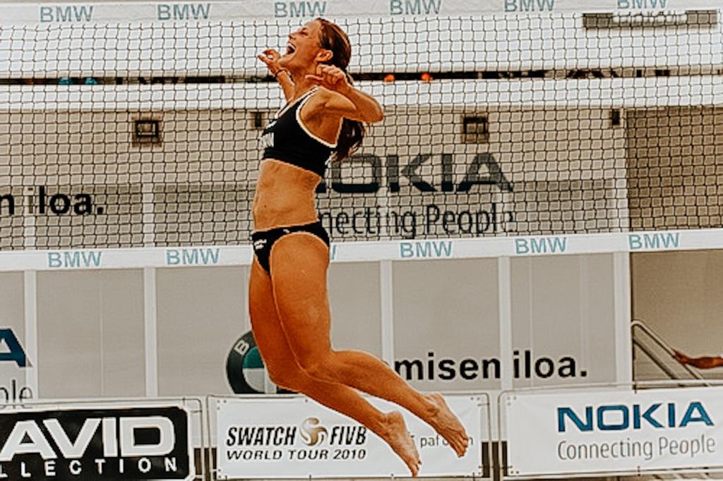 Saana Koljonen beach volley